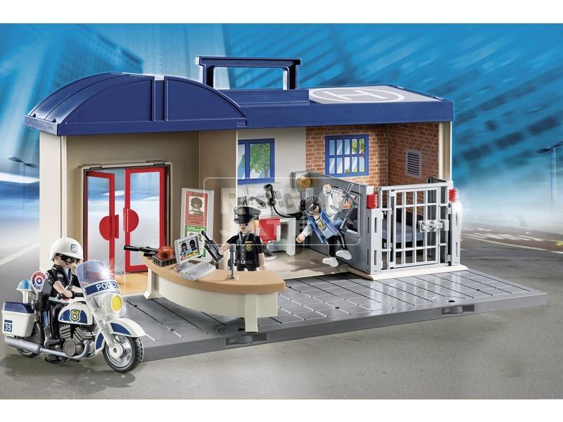 kép nagyítása Playmobil Hordozható rendőrállomás 5299