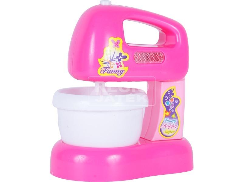 Elektromos habverő - rózsaszín