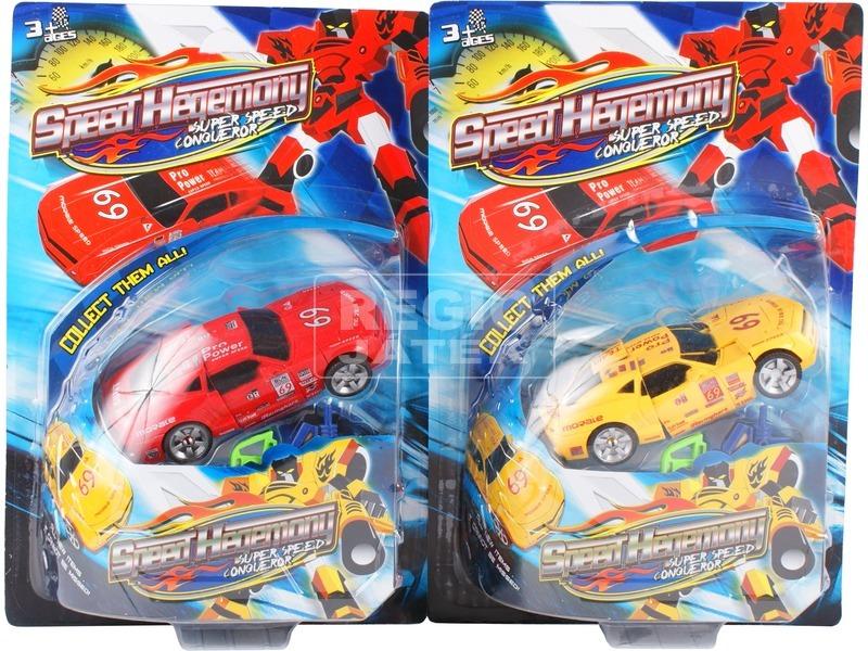kép nagyítása Speed Hegemony átalakuló autó - 15 cm, többféle