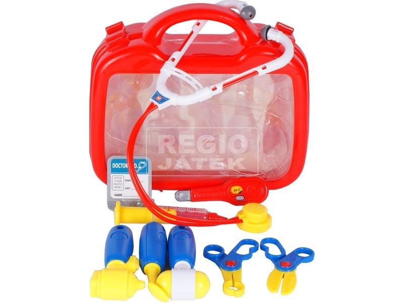 kép nagyítása Orvosi táska 9 darabos készlet - piros