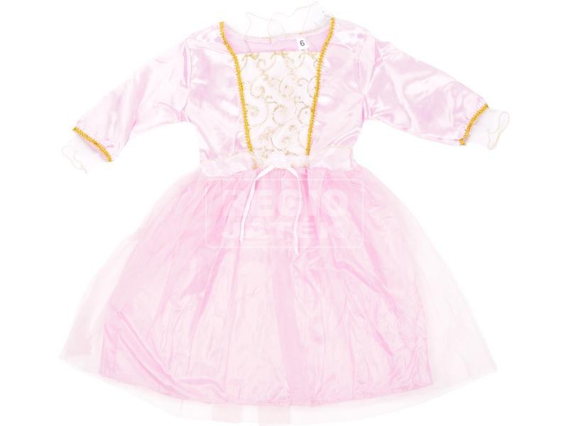 Rózsaszín hosszú balerina jelmez - 116-os méret