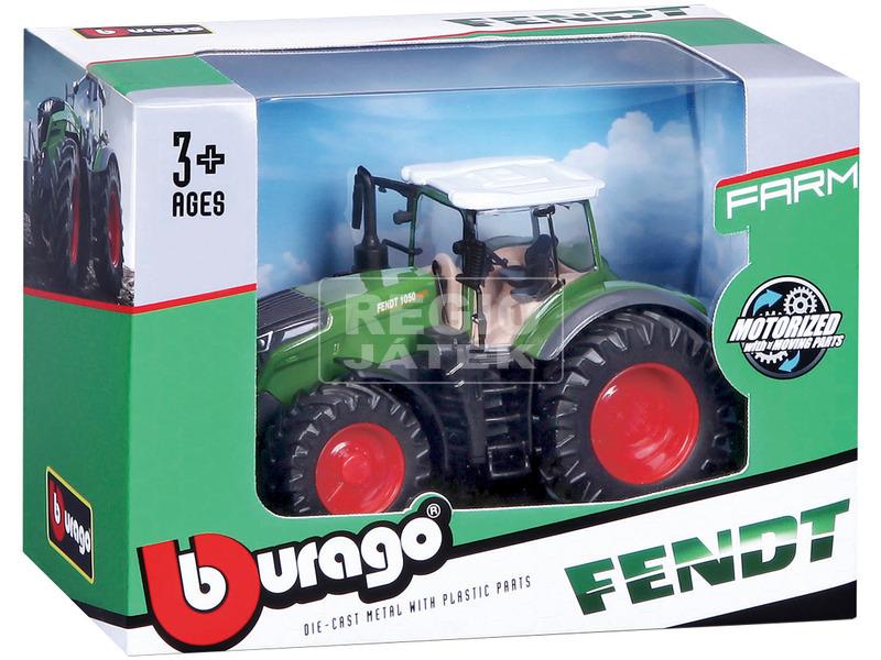 Bburago traktor New Holland / Fendt 10 cm