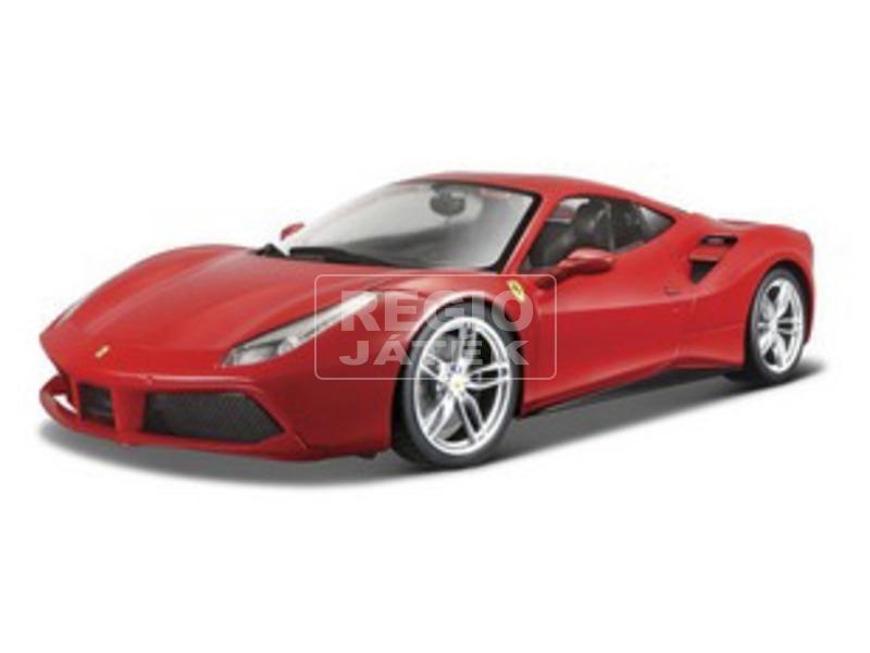 Bburago Ferrari 488 GTB versenyautó 1:43