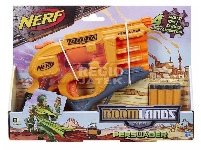 NERF Doomlands Persuader szivacslövő pisztoly