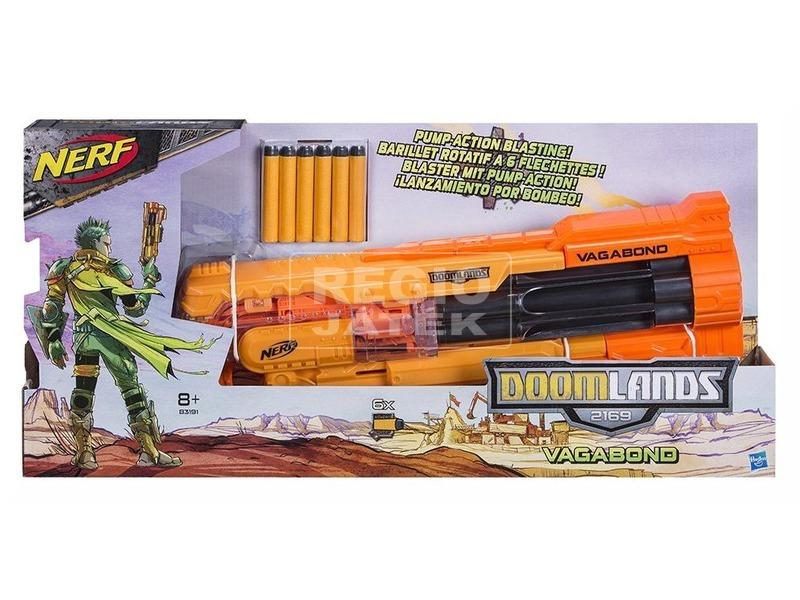 NERF Doomland Vagabond szivacslövő puska