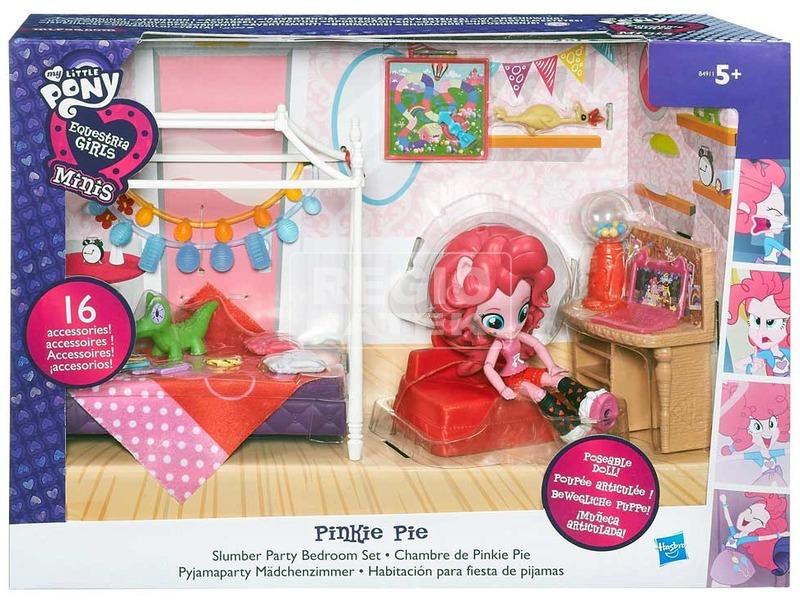 Én kicsi pónim: Equestria Girls mini játékkészlet - többféle