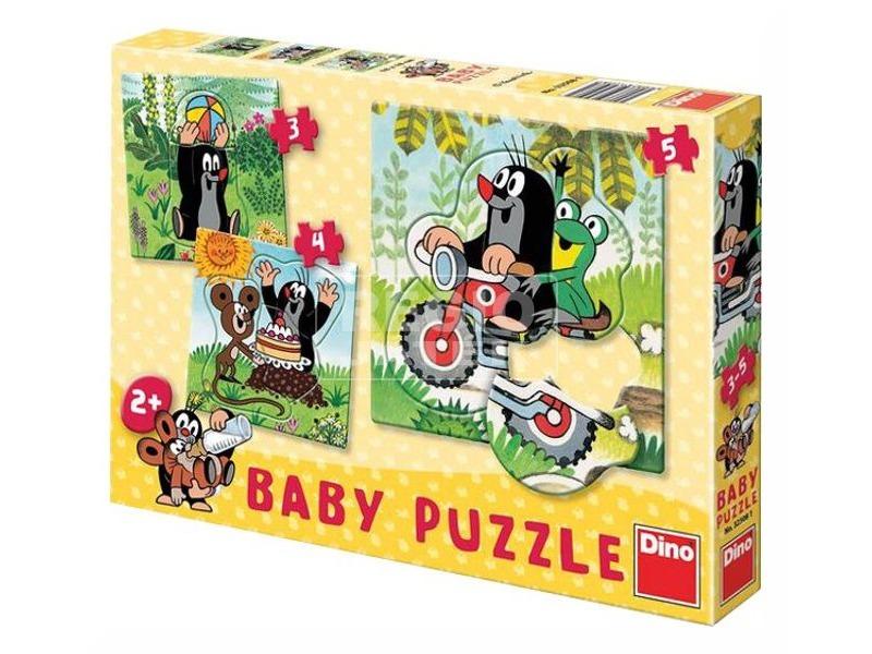 Kisvakond 3 az 1-ben bébi puzzle