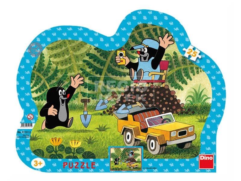 Kisvakond és a sárga autó 25 darabos puzzle