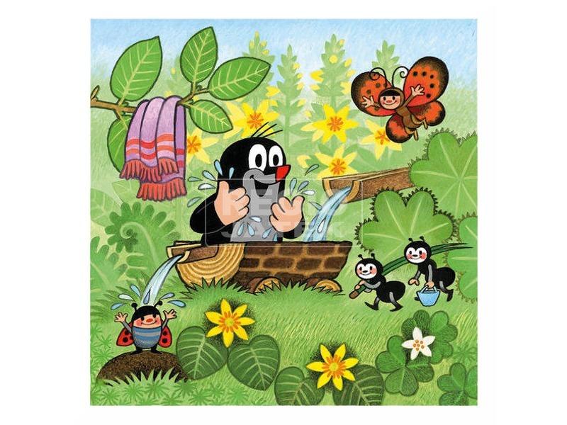 kép nagyítása Kisvakond és barátai 3 x 55 darabos puzzle
