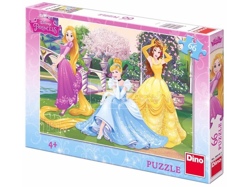 Disney hercegnők kertben 66 darabos puzzle