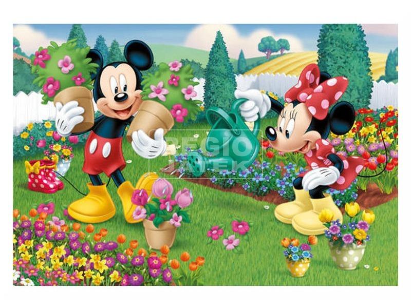 kép nagyítása Minnie egér alkot 2 x 66 darabos puzzle