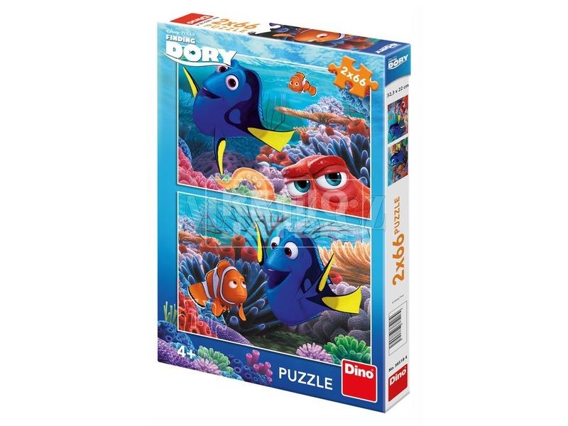 Szenilla nyomában 2 x 66 darabos puzzle