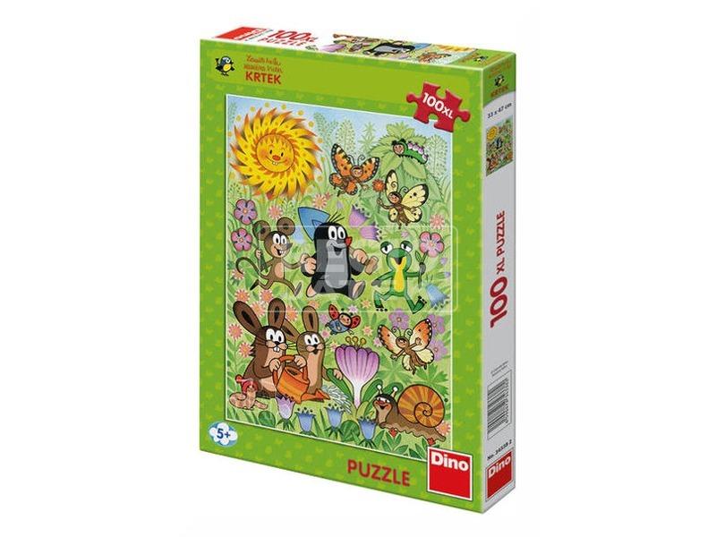 Kisvakond tavasz 100 darabos XL puzzle