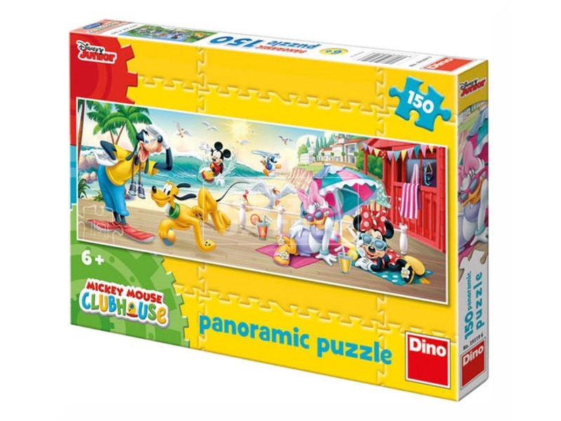 Mikiegér nyári kalandjai 150 darabos panoráma puzzle