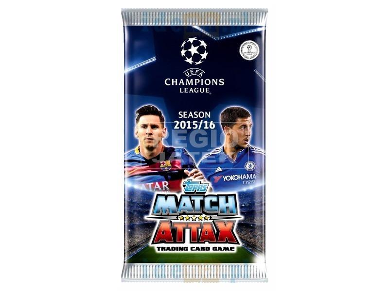 MatchAttax Champions League kártya CL