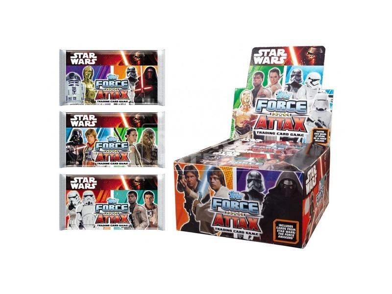 Star Wars Force Attax kezdőcsomag FA