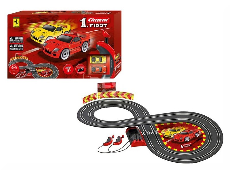 kép nagyítása Carrera First Ferrari elemes autópálya - 240 cm