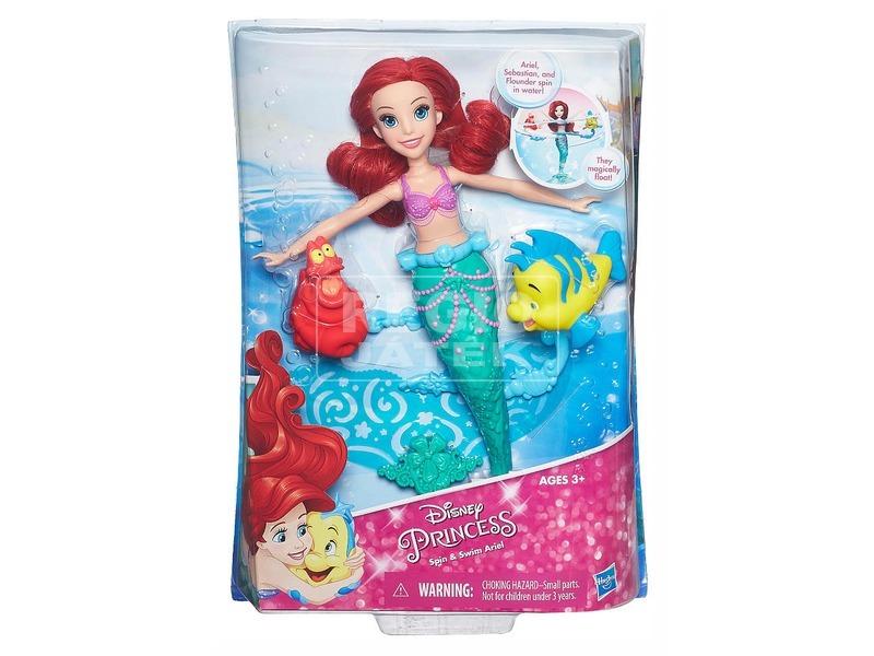 DISNEY Hercegnők úszkáló Ariel B