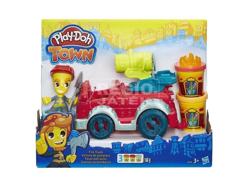 Play-Doh tűzoltó autó gyurmakészlet