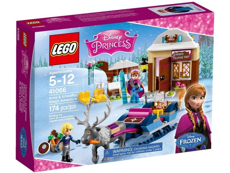 LEGO Disney Princess Anna és Kristoff szánkója 41066