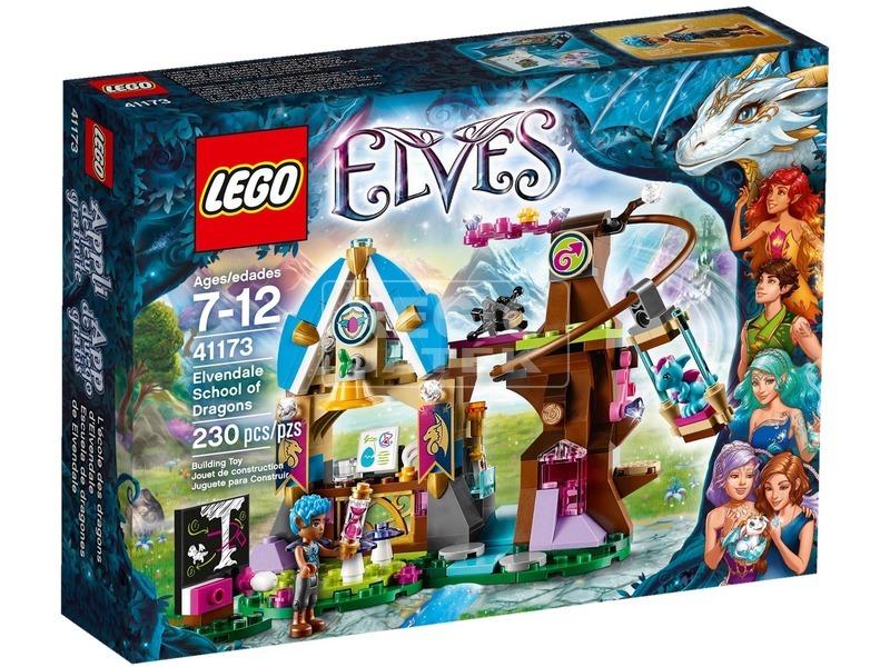 LEGO Elves Elvendale sárkányiskola 41173