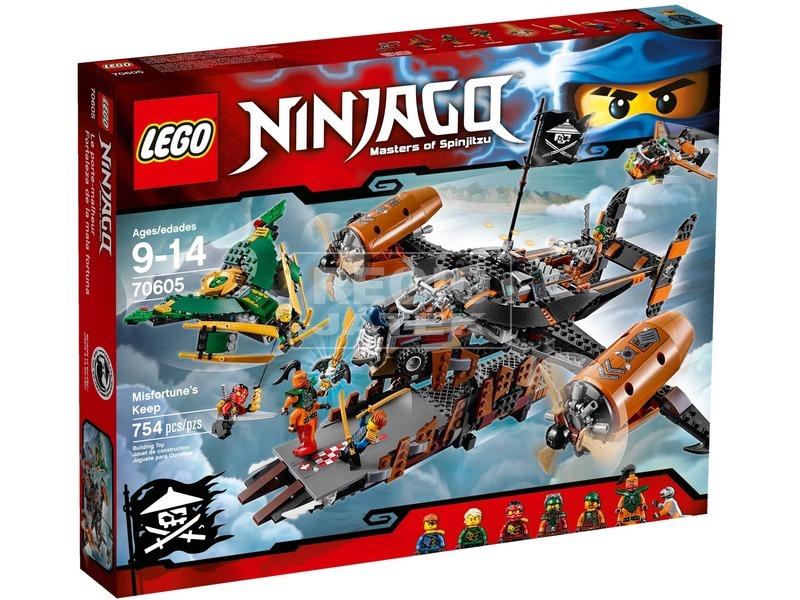 LEGO NINJAGO Örök Balsors kastély 70605
