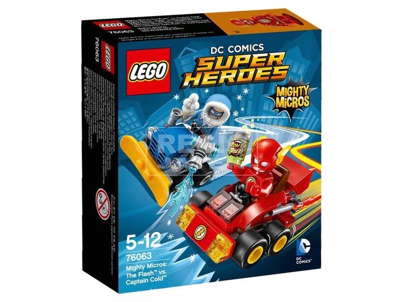 LEGO Super Heroes 76063 Mighty Micros: Flash Cold kapitány ellen