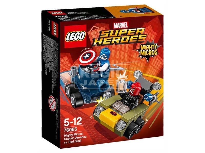 LEGO Super Heroes 76065 Mighty Micros: Amerika Kapitány Vörös Koponya ellen