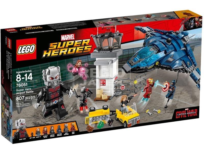 LEGO® Super Heroes reptéri csata 76051