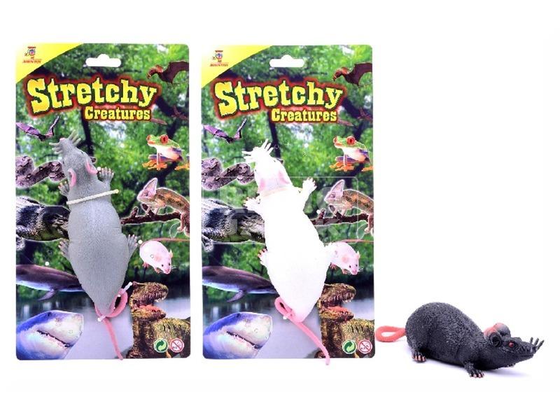 Nyújtható patkány - 16 cm, többféle