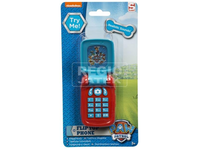 Mancs őrjárat játéktelefon