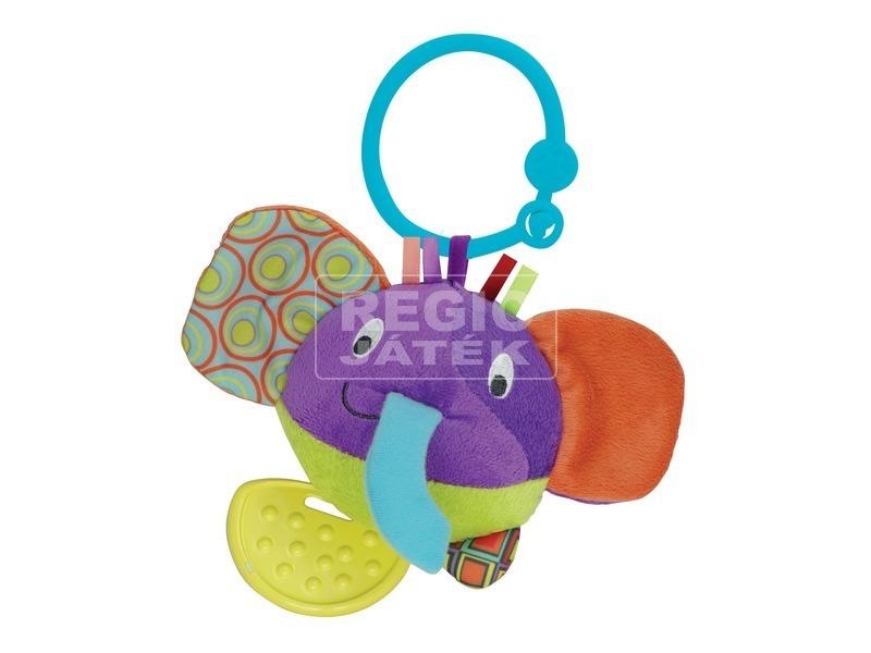 Elefánt plüss rágóka - kicsi