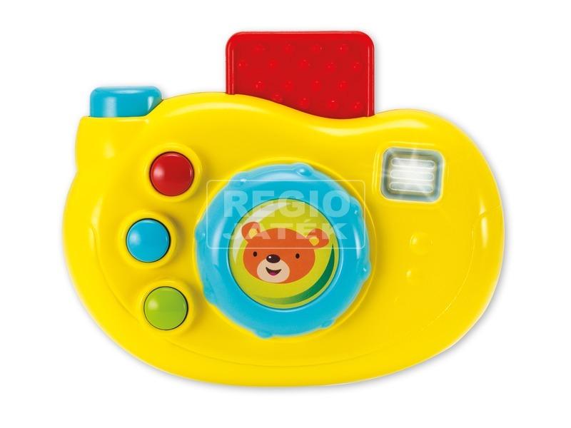 Maci zenélő bébi fényképezőgép