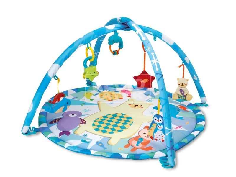 Sarkvidéki bébi játszószőnyeg kupolával