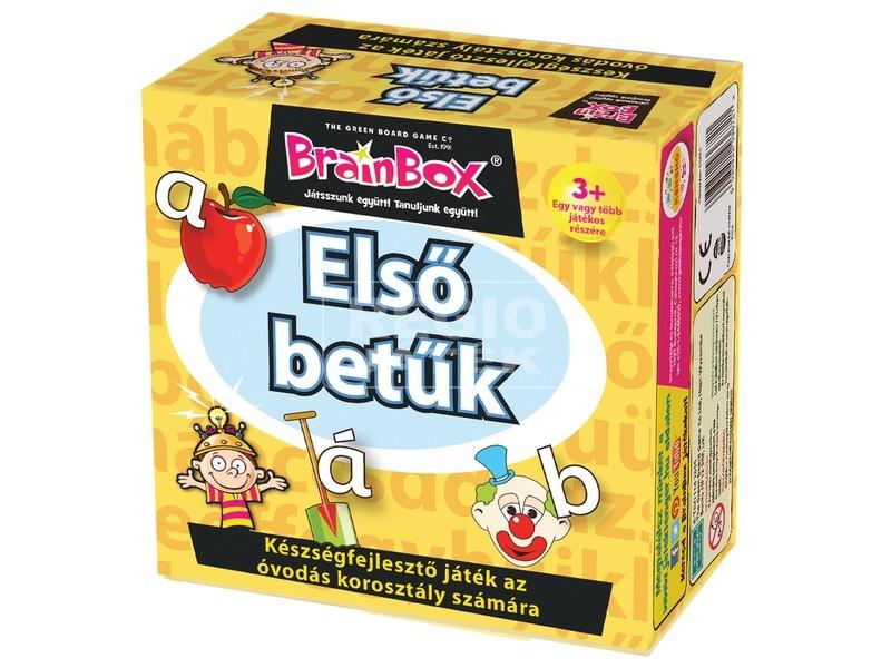 BrainBox - Az első betűk társasjáték