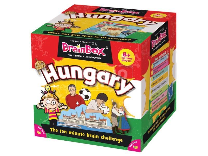 BrainBox - Hungary angolul társasjáték