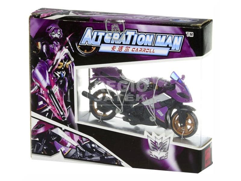 Alteration Man Carroll átalakuló robot - 15 cm