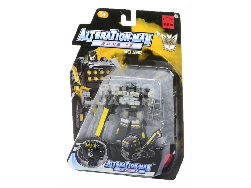 Alteration Man Bomb átalakuló kamion - 10 cm