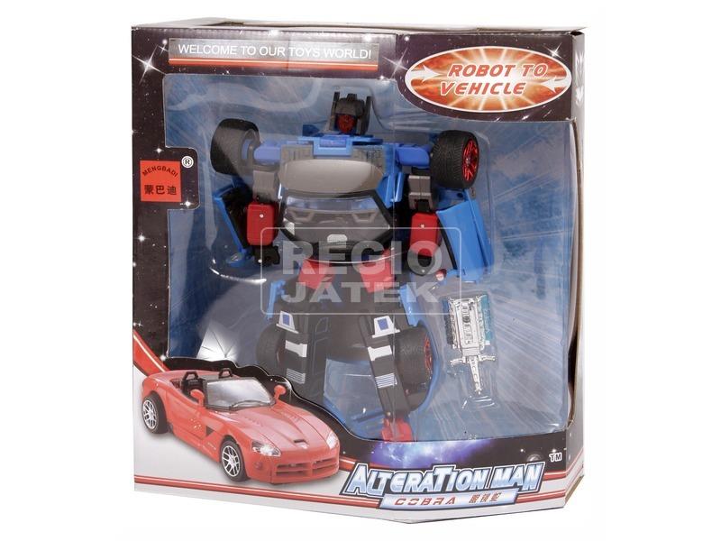 Alteration Man átalakuló robot - 20 cm, többféle