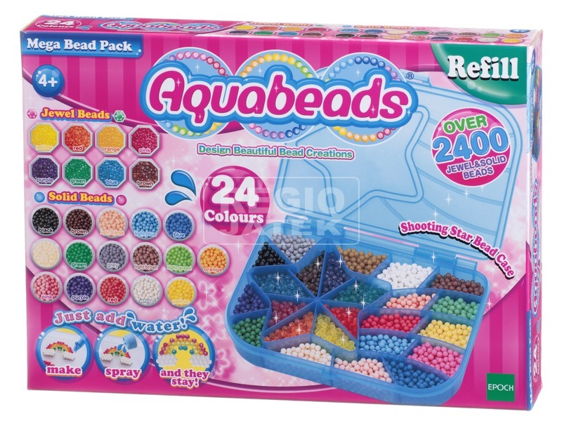 Aqua Beads utántöltő 2 400 darabos készlet