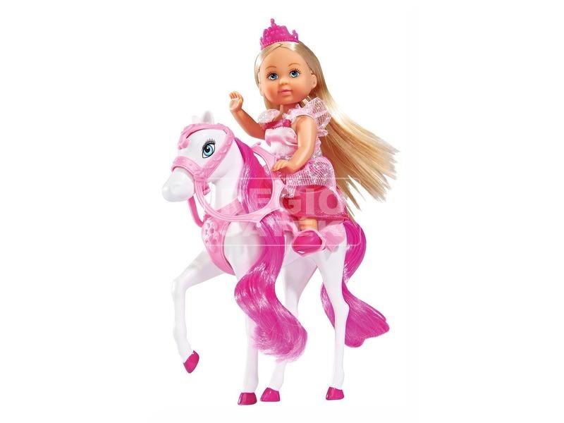 kép nagyítása Évi hercegnő királyi lóval - 13 cm