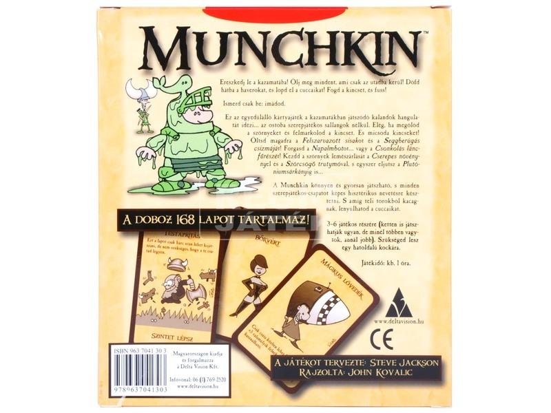 kép nagyítása Munchkin alap társasjáték
