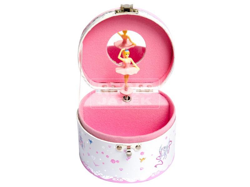 kép nagyítása Hercegnős kerek zenélő doboz