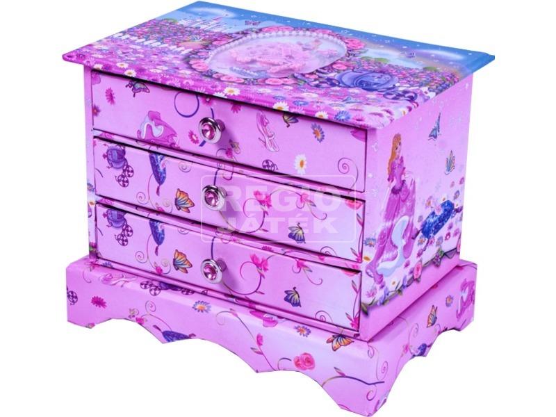 hercegnős fiókos tárolódoboz