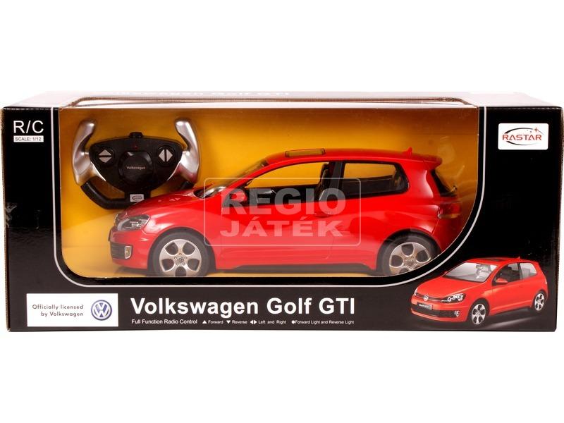 Távirányítós Volkswagen Golf GTI - 1:12, többféle