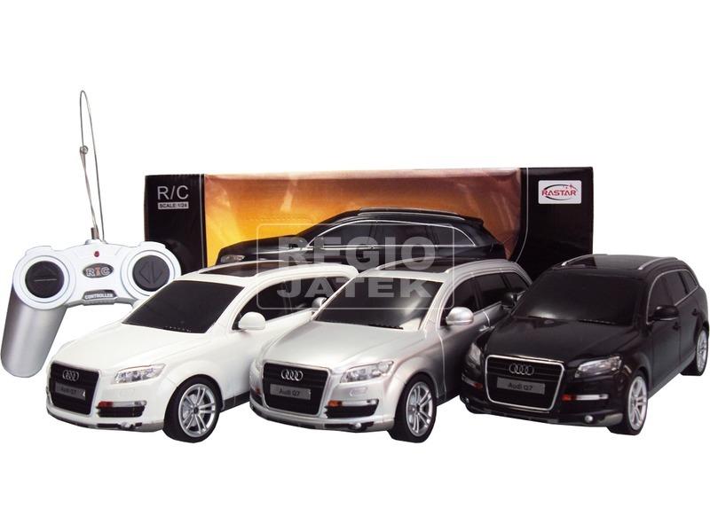Távirányítós Audi Q7 - 1:24, többféle