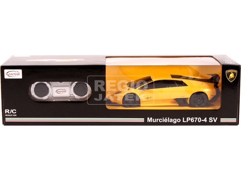 Távirányítós Lamborghini Murciélago LP670-4 - 1:24, többféle
