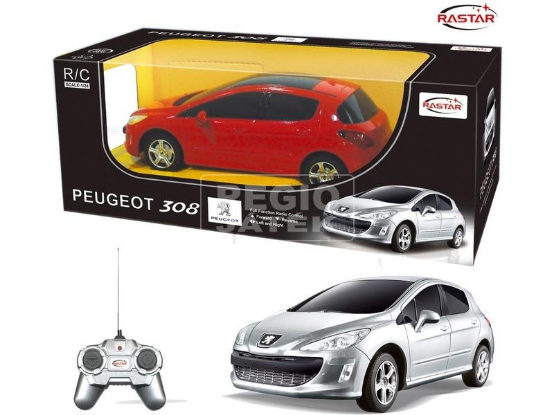 Távirányítós Peugeot 308 - 1:24, többféle