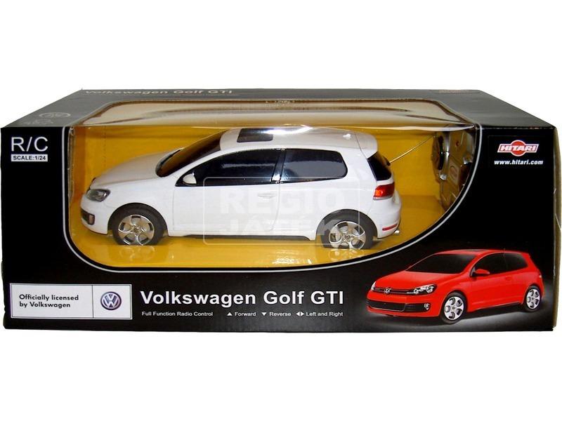 Távirányítós Volkswagen Golf GTI - 1:24, többféle