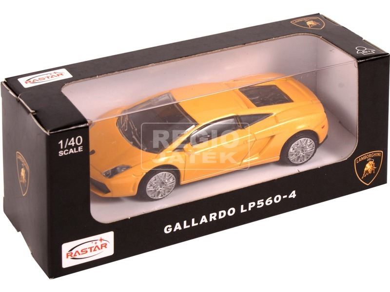Lamborghini Gallardo fém autómodell - 1:40